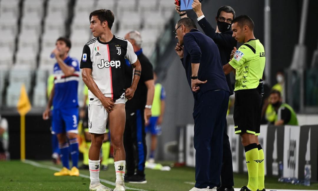 Juve, UFFICIALE: lesione per Dybala, a rischio contro il Lione