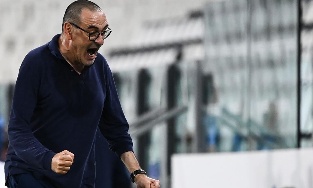 Juve campione: la squadra festeggia, ecco cosa fa Sarri VIDEO