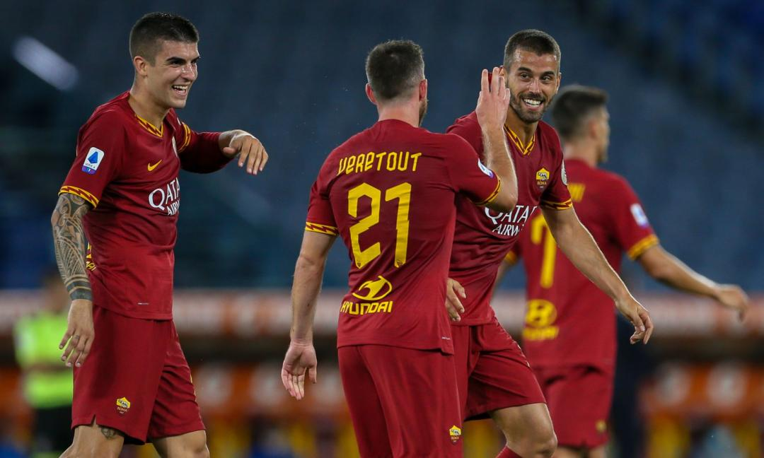 Juve-Roma, Spinazzola saluta Dybala, Szczesny e altri ex compagni