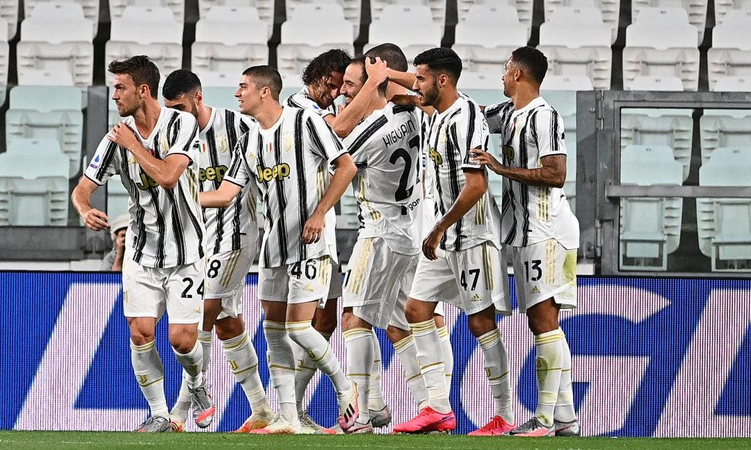 Juventus-Roma 1-3, il tabellino