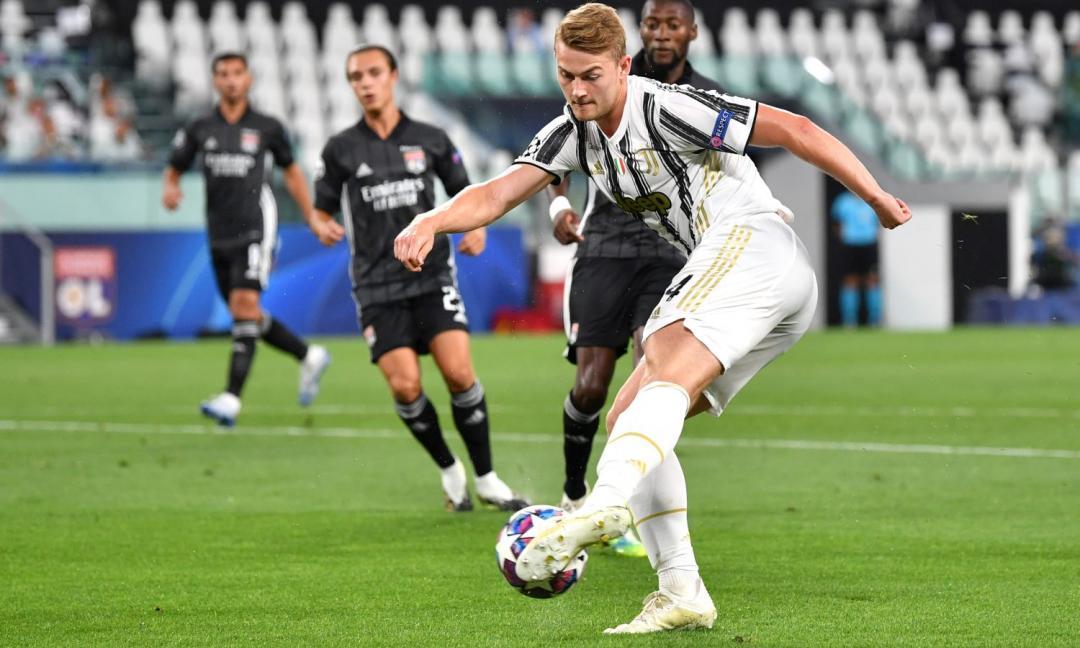 De Ligt: 'Pirlo? Mi ricorda il gioco dell'Ajax. Ho lavorato tanto per tornare'