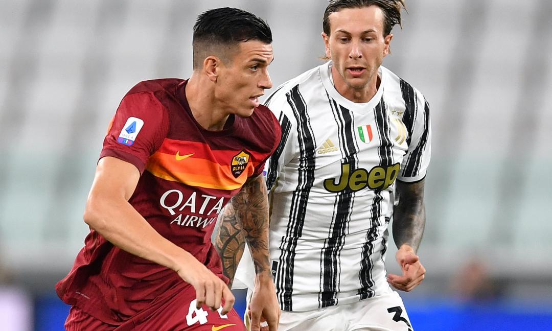 Juve-Roma 1-3: l'heatmap della partita