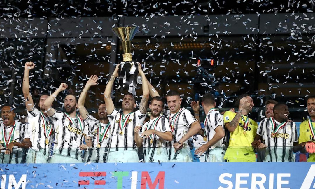 Juventus campione d'Italia, la premiazione integrale VIDEO