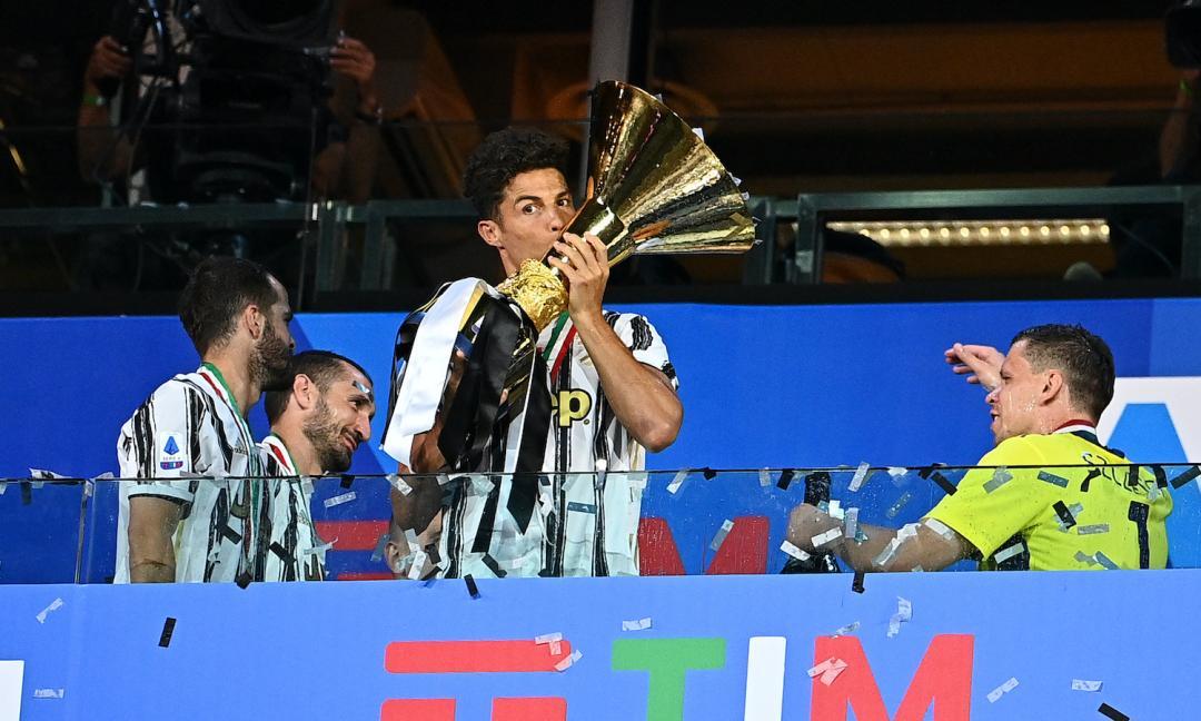 Juve, Ronaldo resta ancora: 'Ora voglio il terzo scudetto di fila' FOTO