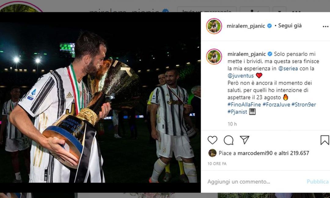 Pjanic crede alla finale di Champions: 'Vi voglio salutare il 23 agosto'