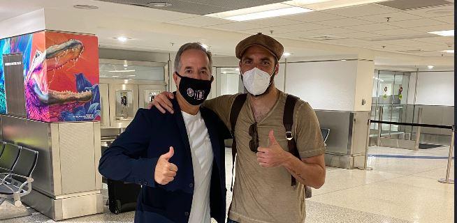 Juventus, Higuain atterrato a Miami: la FOTO