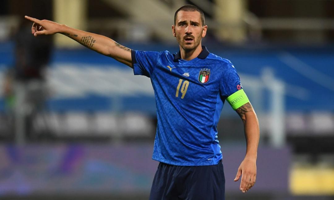 Nazionale, Bonucci è il primo protagonista di 'Player Insight'