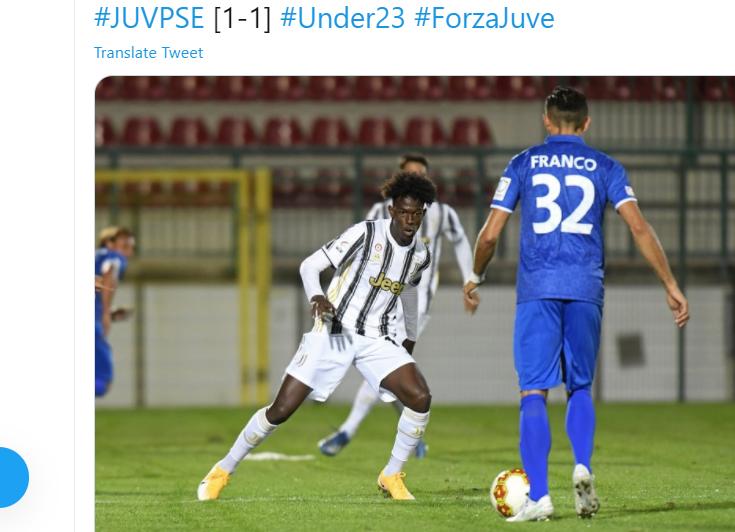 Juve Under 23, UFFICIALE la squalifica di Correia: quante partite salta