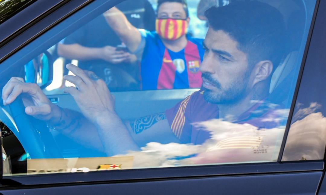 Giallo Suarez: è atteso a Perugia, ma si allena a Barcellona con Messi