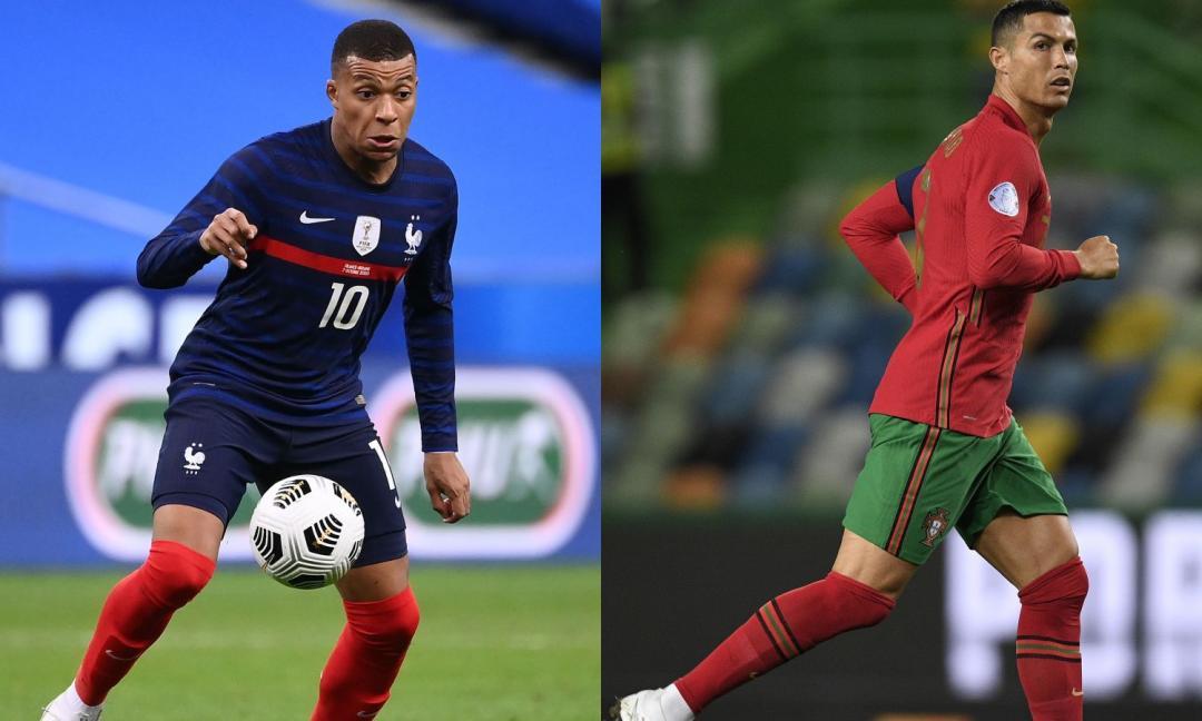 Mbappé su Ronaldo: 'Sognavo di essere come lui, come Cristiano ci sono pochi'