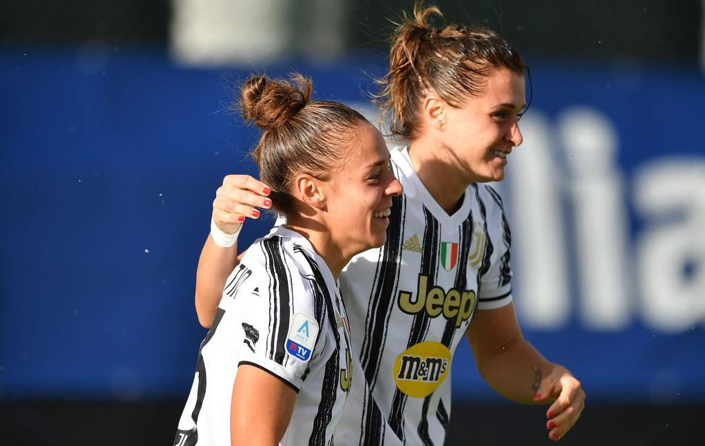 Women, poker della Juve al Pink Bari: Girelli e Cernoia trascinano, primo posto in classifica