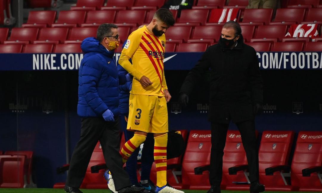 Barcellona, le condizioni di Piqué e Sergi Roberto per la Juve: le ultime