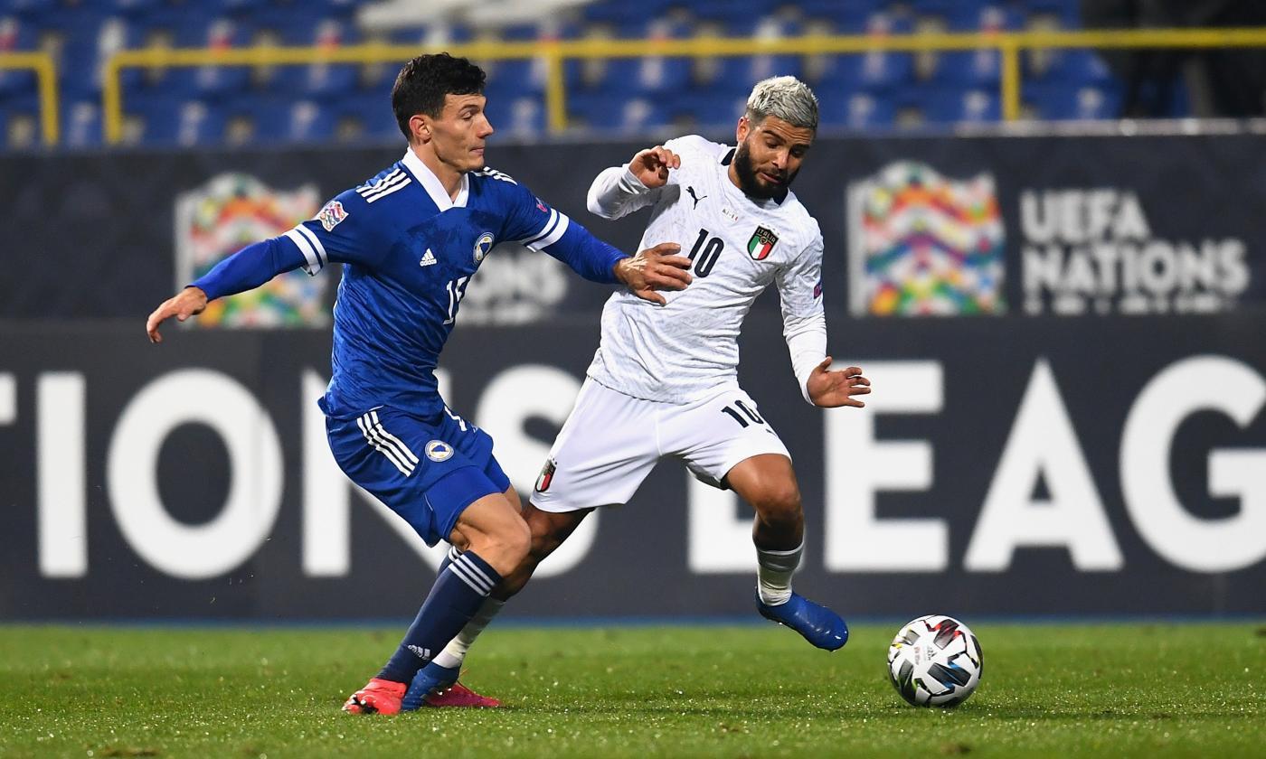 Nations League, Italia alle Final Four! Belotti e Berardi trafiggono la  Bosnia