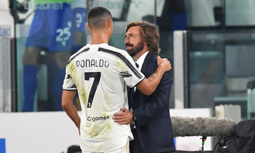 Il messaggio di Ronaldo a Conte: 'Non mollo'. Spunta #CR7Airlines e Pirlo ha un'idea precisa