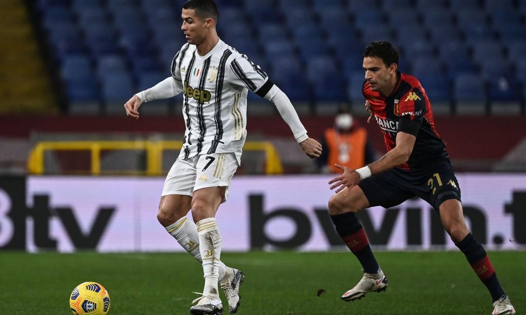 Juve-Genoa, i gol di Bonucci e i record bianconeri: le statistiche