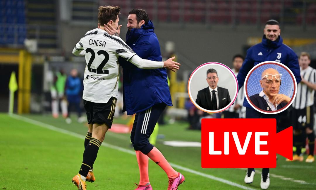 OR LIVE: 'Sentenza Napoli, brutta storia... Quarta punta? Richiamiamo Mandzukic! Dibattito Milan-Juve con Pellegatti'