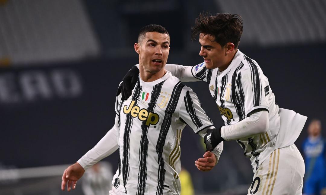 Ronaldo raggiunge Dybala: quanti gol mancano per entrare nel 'club dei 100'
