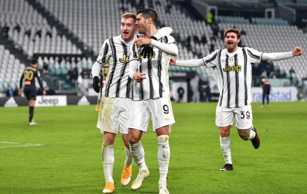 Juve-Genoa, TOP e FLOP al 45': Morata e Kulusevski, show vero
