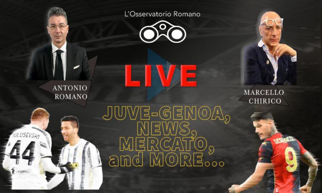 OR LIVE: 'Juve, che senso hanno 20 milioni per Scamacca? Dybala via a giugno e le ultime sul rinnovo di Ronaldo...'