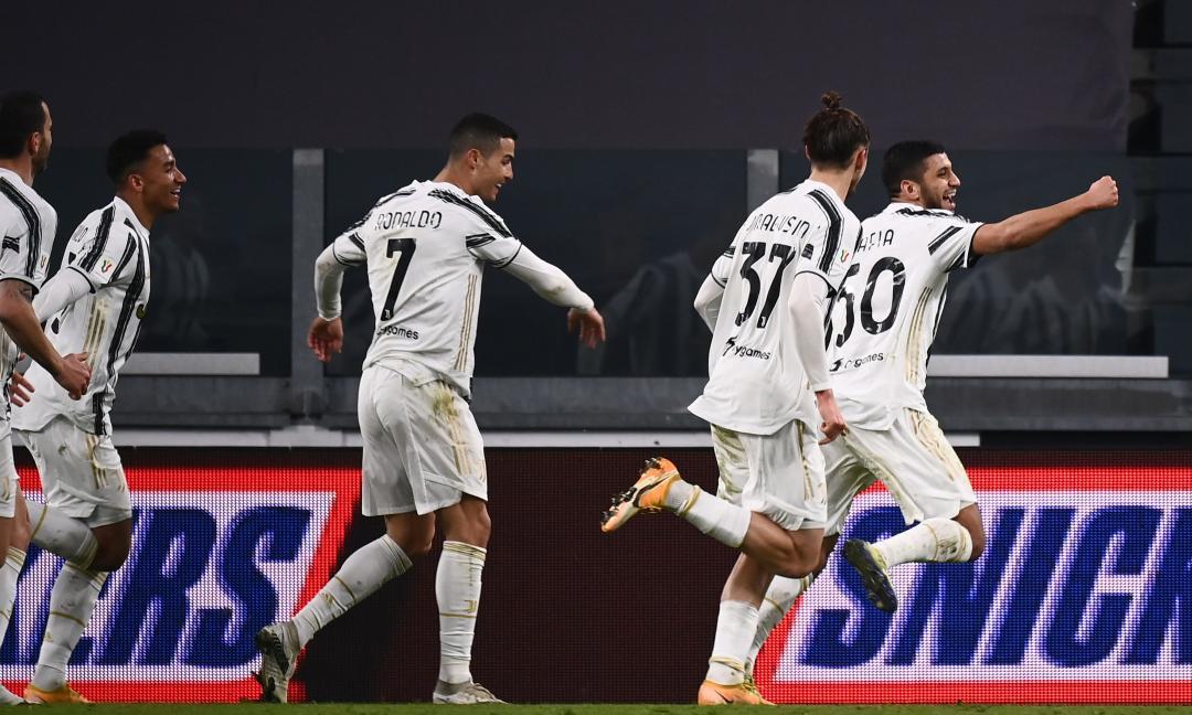 Juve ai quarti di Coppa Italia col brivido: Genoa battuto 3-2 ai supplementari, decide il giovane Rafia
