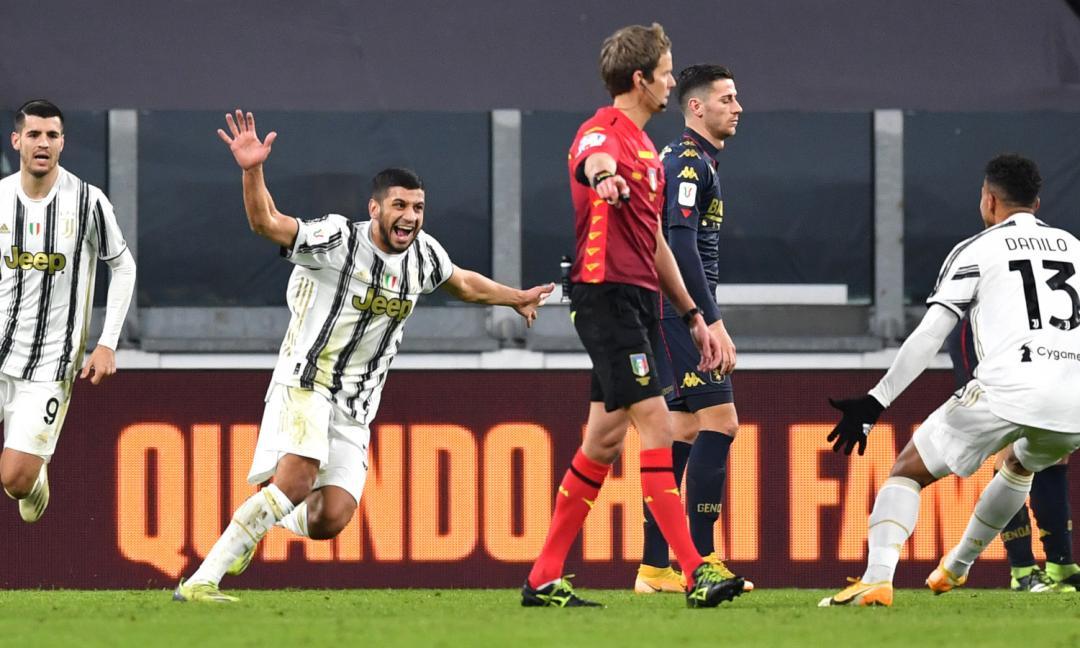 Juve-Genoa 3-2 d.t.s, PAGELLE: Rafia, lo meriti! Ma il blackout è inspiegabile