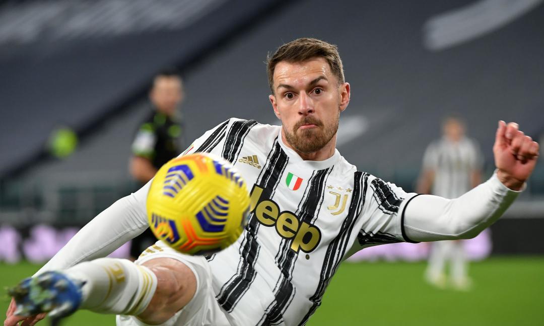 Juve, il gol del giorno manda Ramsey in copertina VIDEO