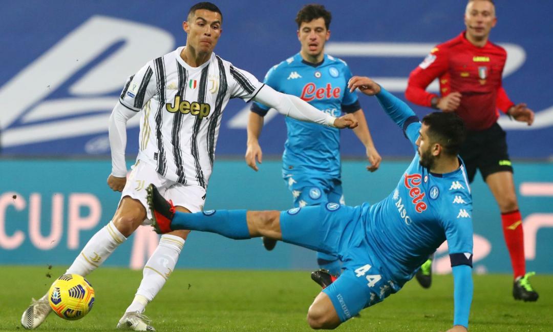 Tanto possesso e pochi falli: TUTTI I NUMERI di Juventus-Napoli