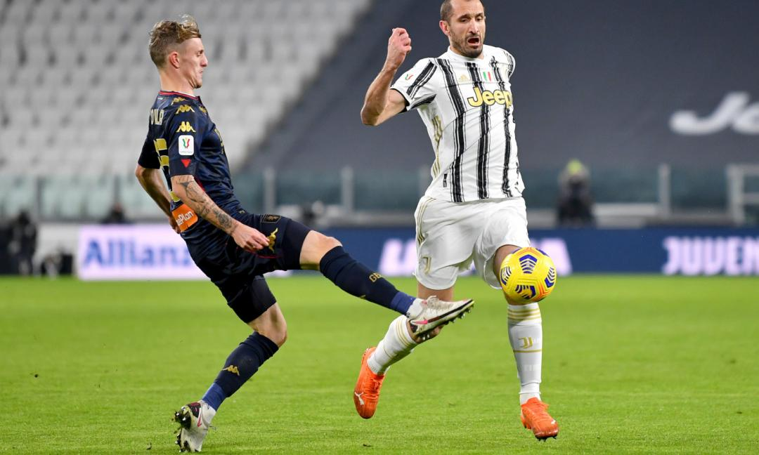 Juve, Genoa, Pirlo chiama Chiellini: 'Dovete fare così'