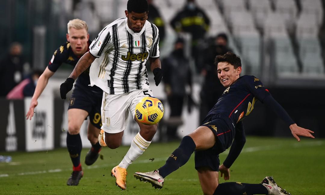Juve-Genoa, il valzer dei ruoli: Wesley esterno puro, sacrificio Bernardeschi, e Dragusin...