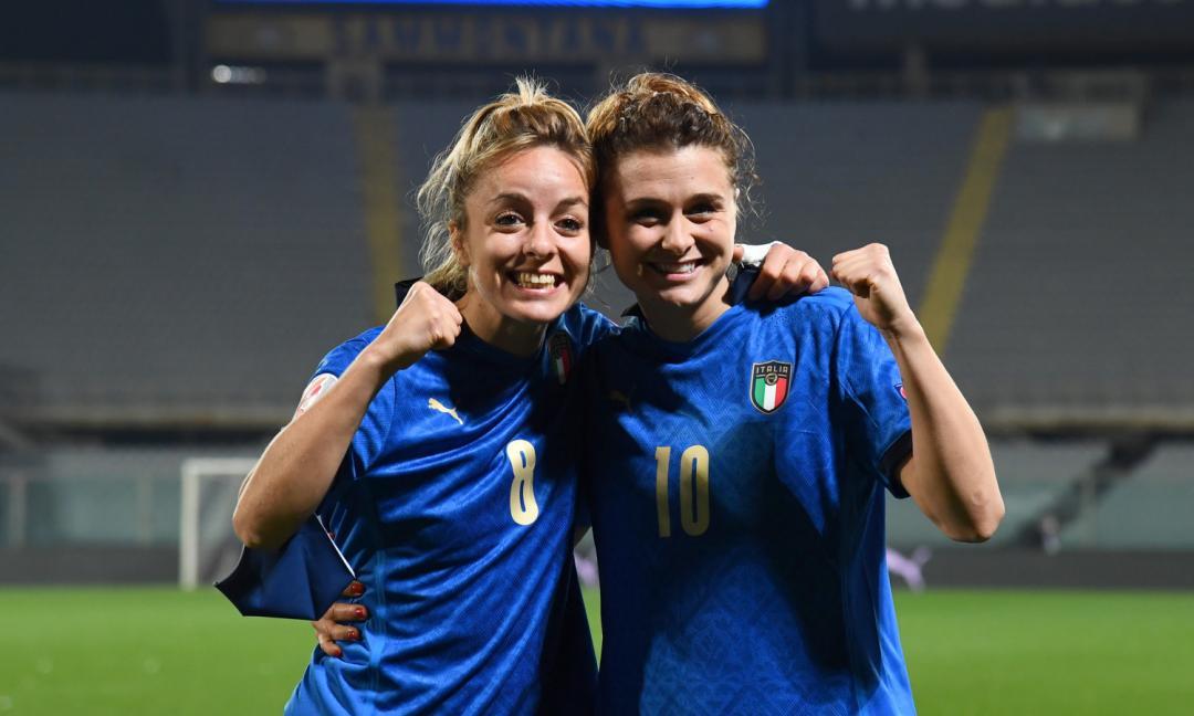 Italia femminile batte Olanda nel segno della Juve Women! Bonansea procura, Girelli trasforma