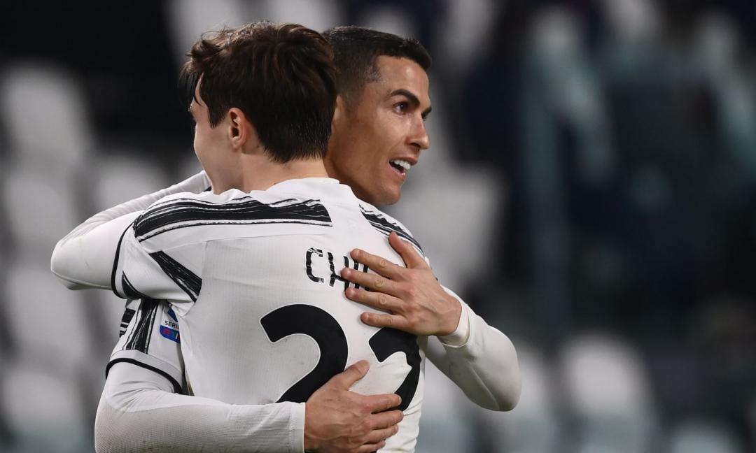 Chiesa e gli allenamenti con Ronaldo: 'Lui è il migliore in questo'
