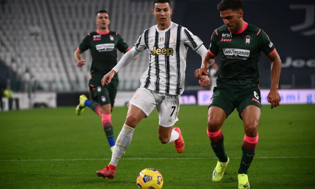 Juve-Crotone, rivivi il primo gol di Ronaldo in FOTO