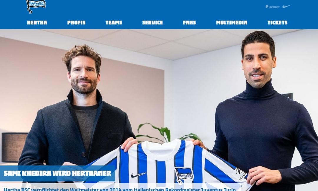 Juve, UFFICIALE: via Khedira, è un giocatore dell'Hertha