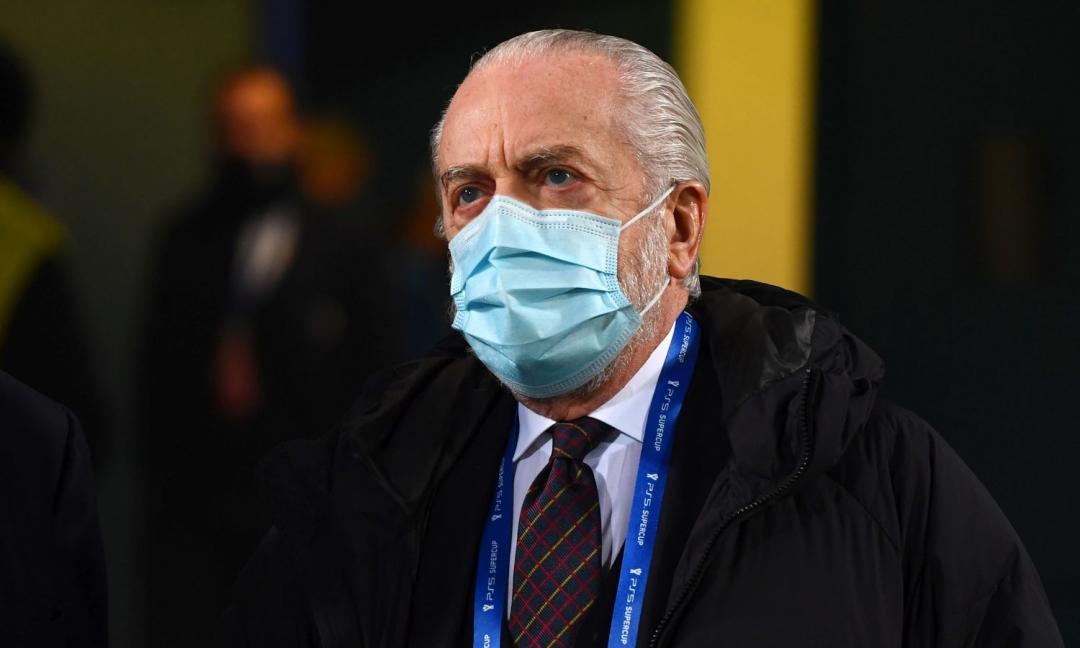 De Laurentiis: 'Napoli in Champions League? Non ho contattato la Uefa!'