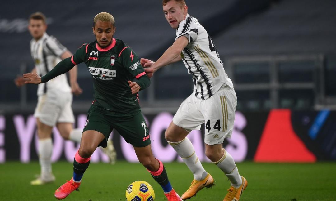 Kulusevski al 45': 'Normale soffrire col Crotone, ma la Juve è avanti 2-0'