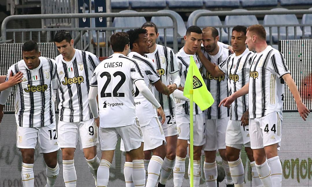 Juve, i blackout condizionano il rendimento: nessuno meglio dell'Inter per chilometri percorsi, la classifica