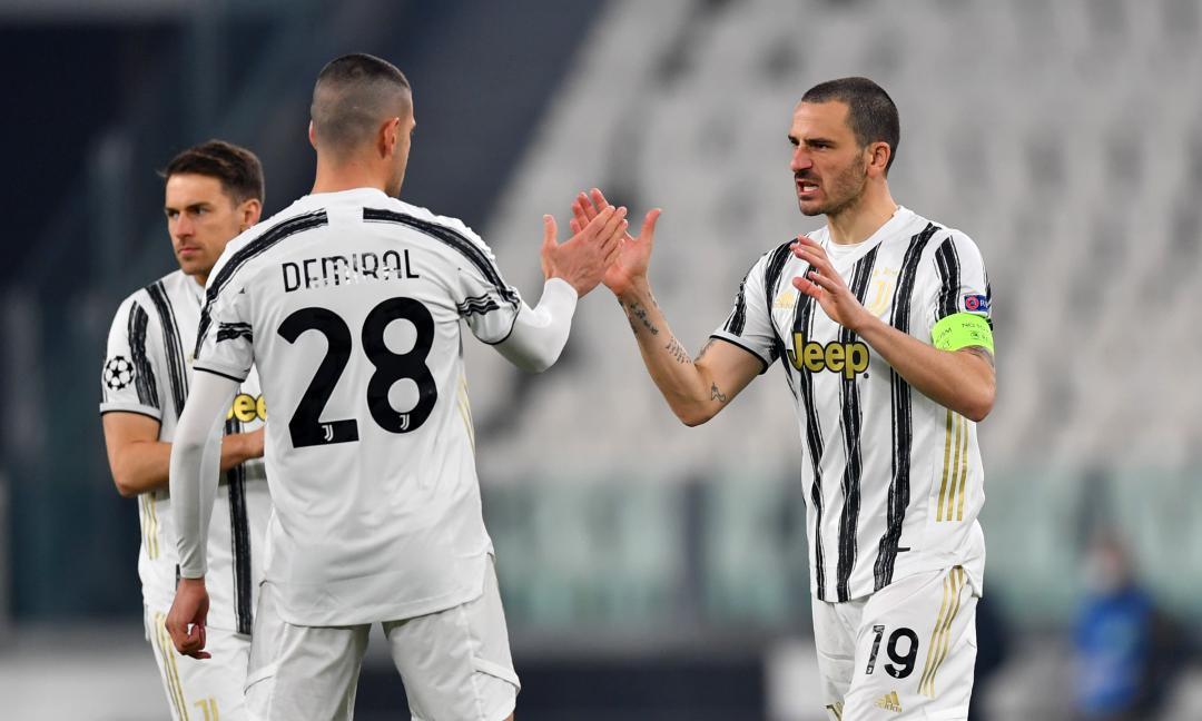 Italia-Turchia sarà derby con Demiral: le FOTO della Juve