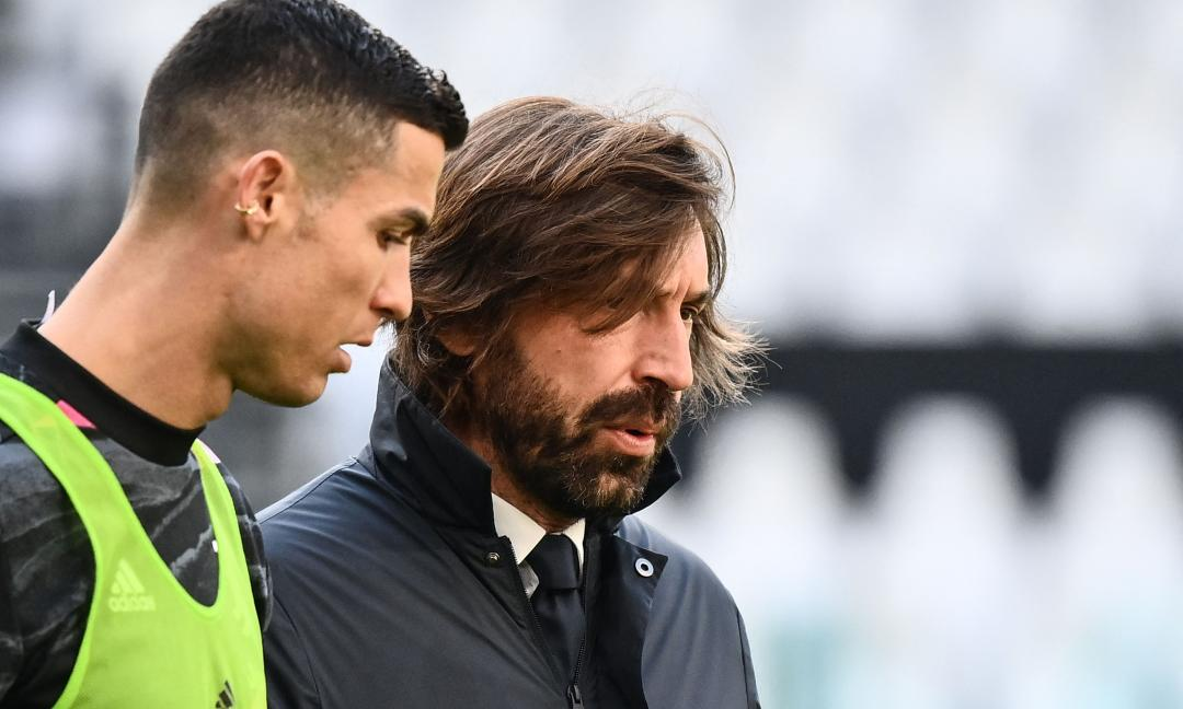 Il commento: 'Pirlo a un passo dal baratro, poi corre in campo. E Ronaldo...'