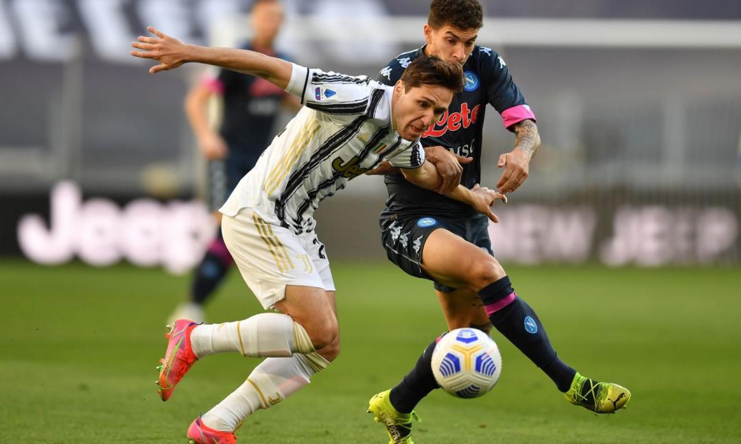 Juve-Napoli e lo strano caso di Chiesa: è la seconda volta che gioca la 3a giornata