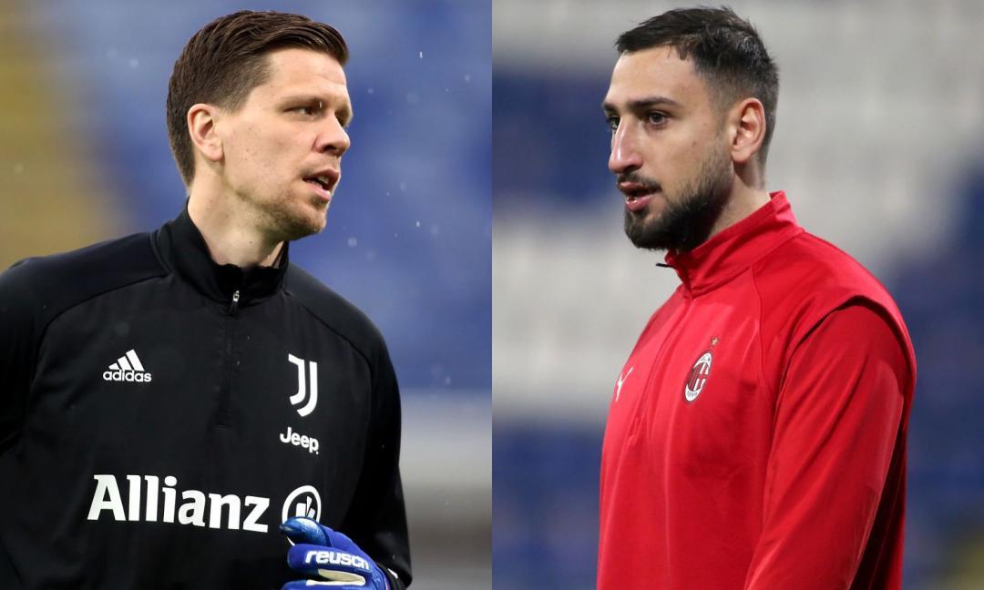 Juve-Milan, in gioco Champions e Donnarumma. Intanto cresce il malumore di Szczesny…