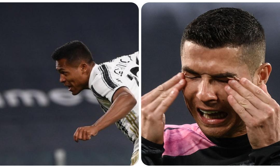 Compro Alex Sandro, vendo Cristiano Ronaldo