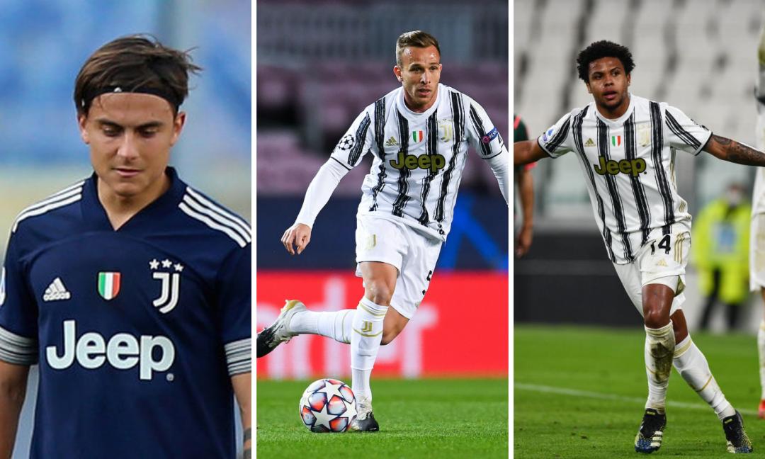 Dybala, Arthur e McKennie: dal festino al Napoli, sono i tre che condizionano di più la stagione della Juve