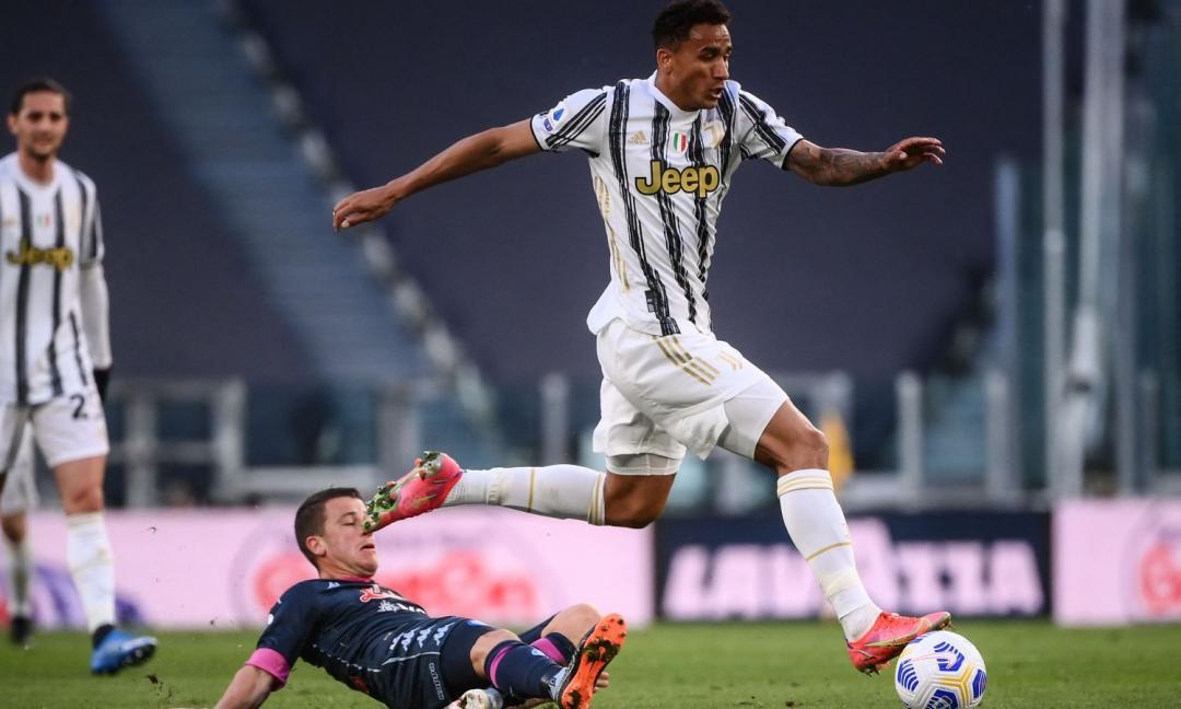 Danilo: 'Noi leader dobbiamo trascinare la Juve in Champions. Rimpianti? Ce ne sono, perché se...'