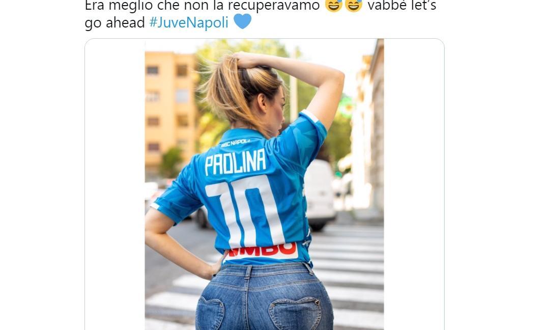 Paola Saulino con la 10 (di Dybala): 'Era meglio non recuperarla' GALLERY