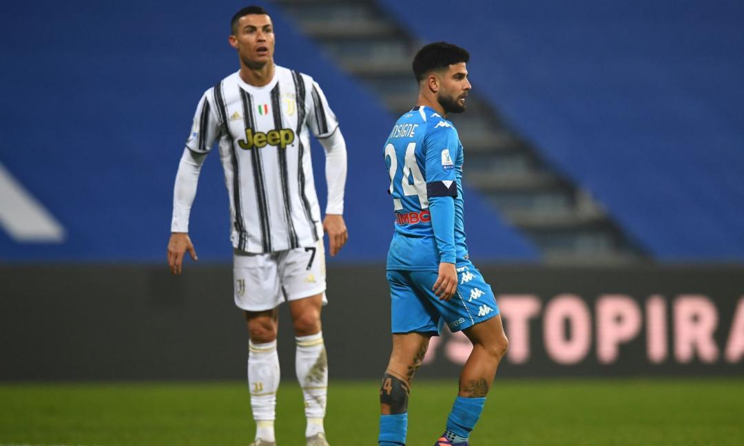 Per colpa del rigore di Insigne, la Juve dovrà preoccuparsi della differenza reti col Napoli