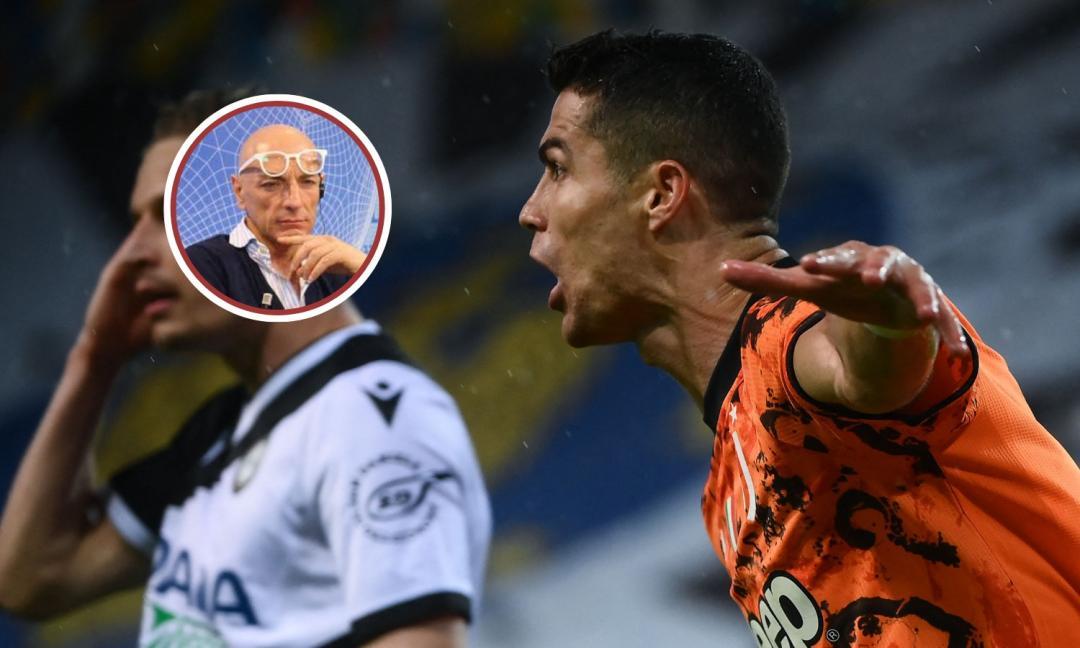 Chirico: 'Una Juve oscena, una squadra di rammolliti. Grazie Ronaldo, Pirlo fa sempre peggio'