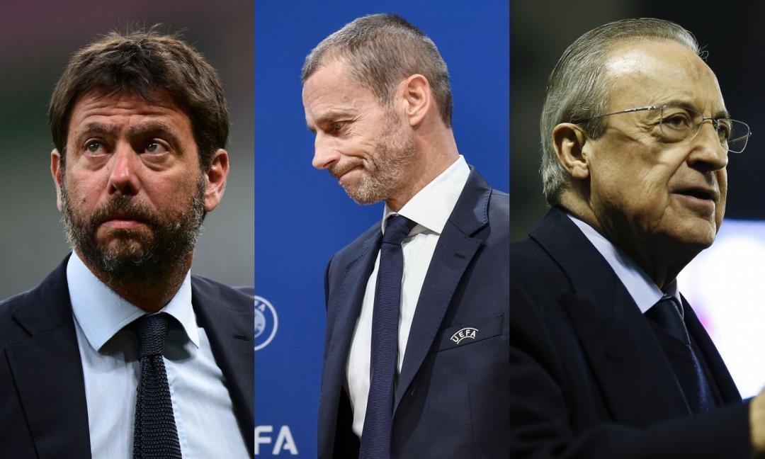 Dall'Inghilterra: 'Scontro Uefa-SuperLega, Juve, Real e Barça si affidano all'avvocato della sentenza Bosman'