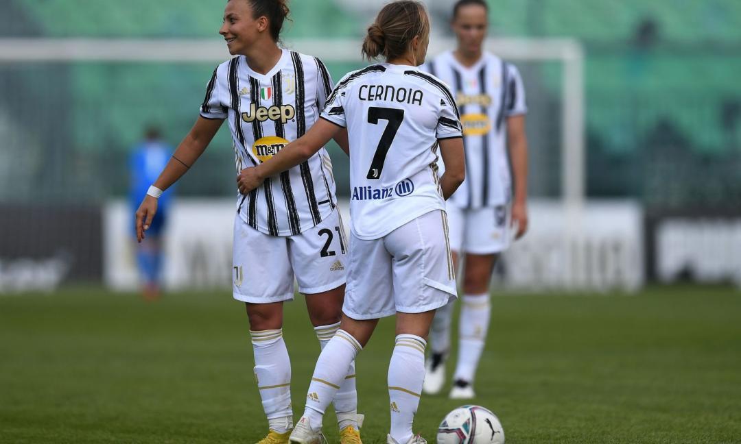 Juve Women, Cernoia in conferenza: 'Abbiamo giocato un grande calcio contro un top club'