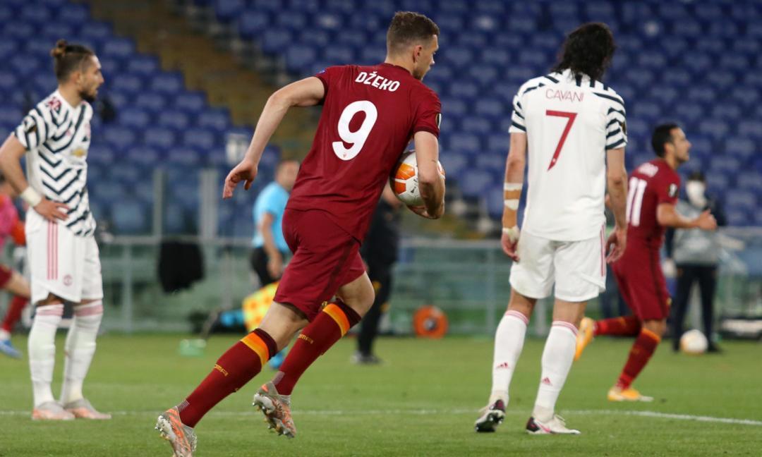 Dzeko torna 'capitano' della Roma: la Juve in attesa, c'è la mossa dei giallorossi