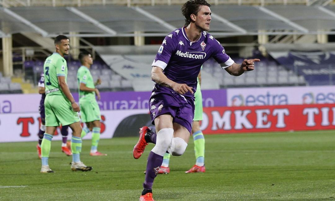 Juve su Vlahovic, la Fiorentina fissa il prezzo
